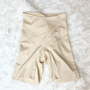 SPANX Nude High Waist Mid Thigh Shapewear Small S